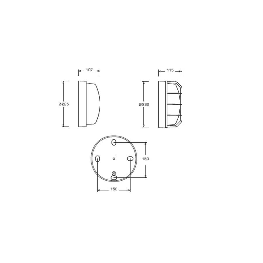 L'ebenoid 100w 177764 E27 Hublot 62 Ssl Rond KJlFc1