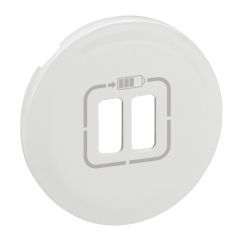 ENJO. DBLE CHARGEUR USB BLANC photo du produit