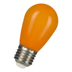 LED ST45 E27 240V 1W Orange photo du produit
