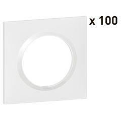 PLAQUE 1P BLANC X100 photo du produit