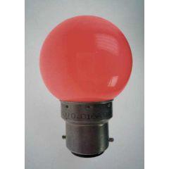 25 Lpes Led B22-rouge-230V photo du produit
