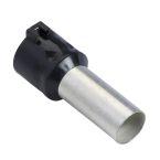 Embout E moyen 25mm2 noir NF photo du produit