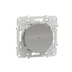 Variateur pouss zigbee alu photo du produit