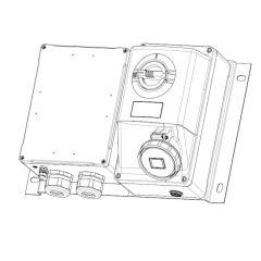 socle e 63A 3P+T 380-415v pas photo du produit