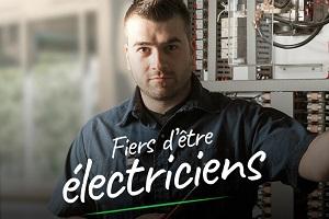fier d'être électricien