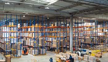 Solutions Sylvania pour l'industrie et la logistique