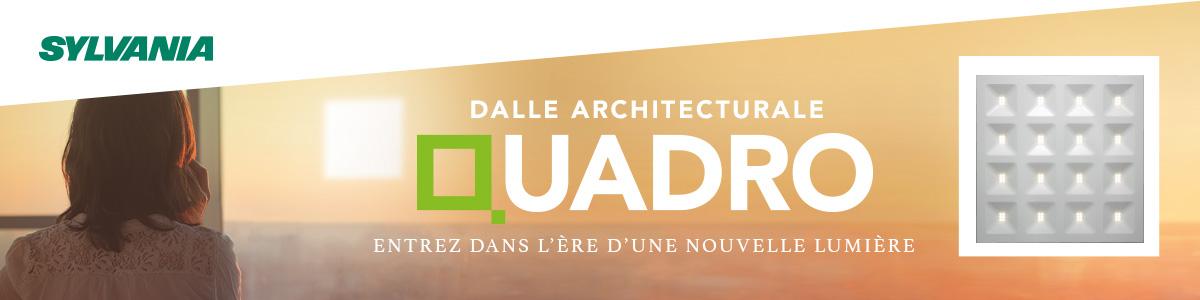 Banner lancement Quadro : Entrez dans l'ère d'une nouvelle lumière