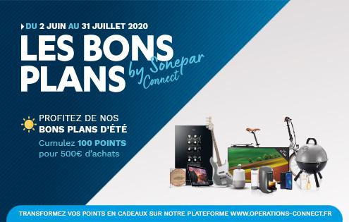 Banner présentation Bons Plans Connect ete 2020