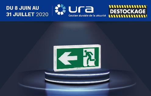 Banner présentation Promo web URA - Destockage juin 2020