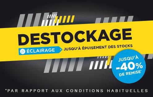 Banner présentation Déstockage Eclairage juillet 2020