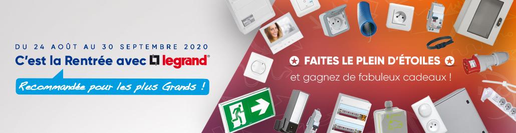 Promo Legrand - Rentrée 2020