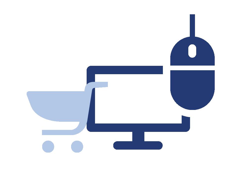 icône commander en ligne