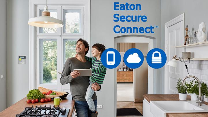 Appli mobile Secure Connect Eaton