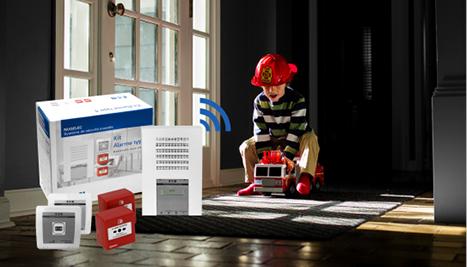 Actu centrale incendie T4 radio Eaton