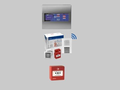 gammes d'alarmes incendie et techniques