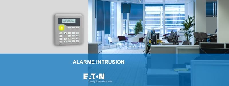 banner presentation Eaton alarme intrusion