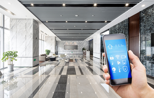 Batiment intelligent smart building Sonepar Connect