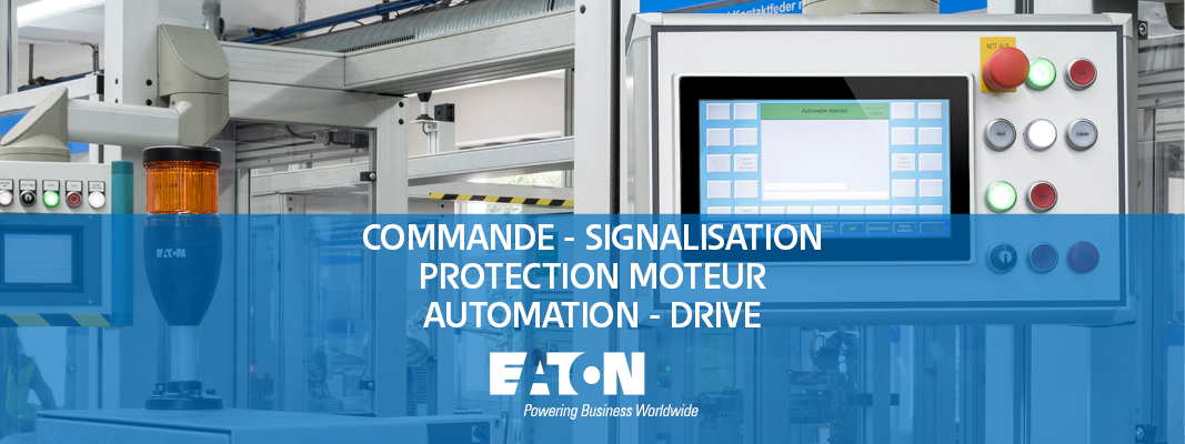 banner Eaton commande signalisation protection moteur