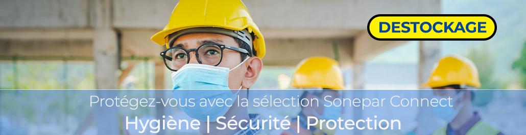 Banniere Destockage Hygiène - Sécurité - Protection