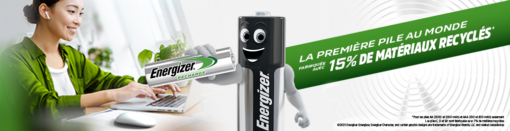 Banner Energizer Rechargeables