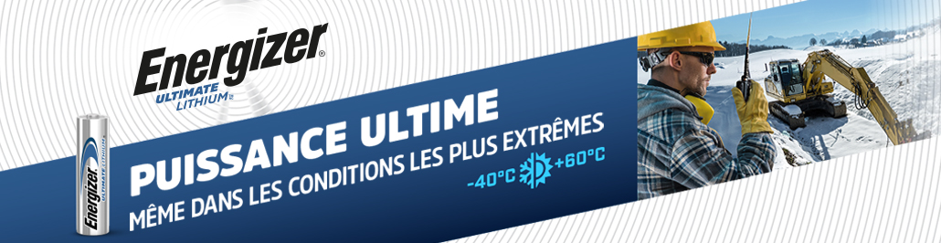 Banner Energizer Lithium