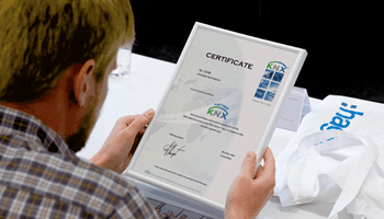 protocole KNX formation hager