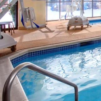 Select Boston Milford indoor pool