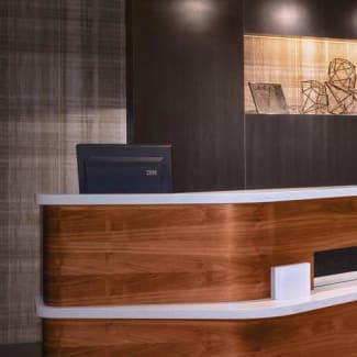 Select Mahwah lobby pedestals