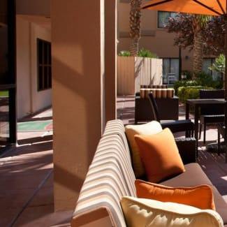 Select Las Vegas Summerlin outdoor patio