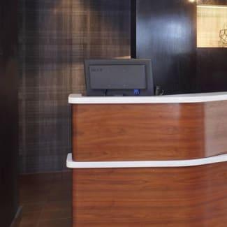 Select Milwaukee Brookfield pedestals lobby