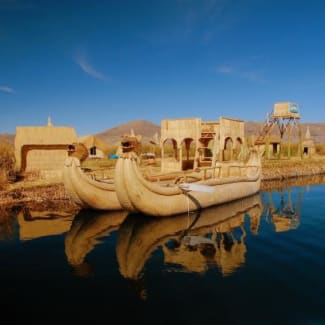 Sonesta Posadas Del Inca - Lake Titicaca - Puno - boats on water