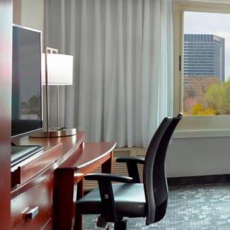 Select Atlanta Midtown Georgia Tech double beds