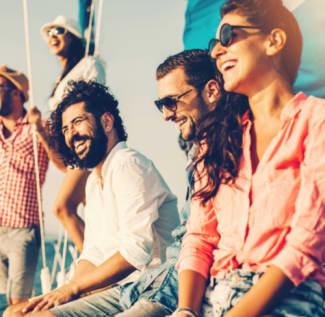 Yacht photo friends