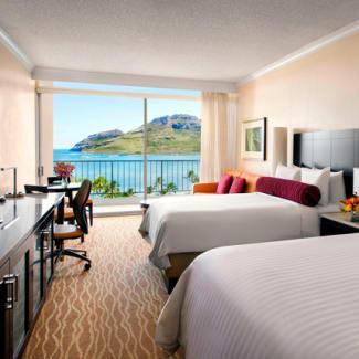 Kaua'i Double Bed Guestroom Ocean View