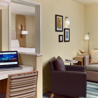 Sonesta ES Suites Burlington One-Bedroom Suite