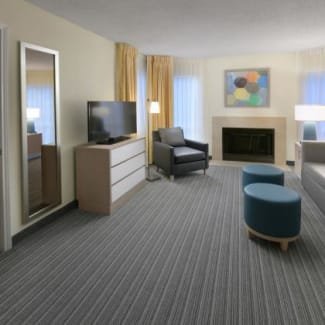 Two Bedroom Living Space
