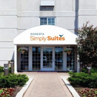Sonesta Simply Suites Chicago O'Hare Airport Hotel Exterior Entrance