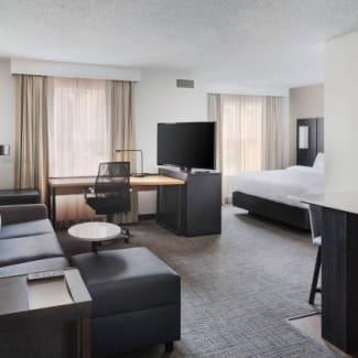 Premium King Suite Living Area
