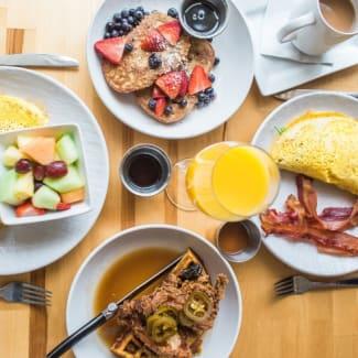 American Breakfast at Sonesta Denver