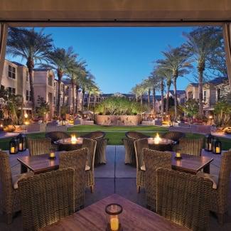 Sonesta Suites Scottsdale exterior patio
