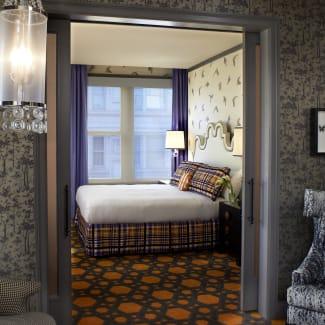 Grand Suite Bedroom Entrance | Royal Sonesta Portland