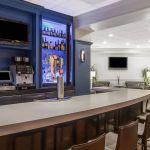 Hotel lobby bar and lounge