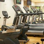 Atlanta Airport Hotel Gym Cardio Equipment