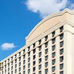 Atlanta Airport Hotel Exterior Blue Sky