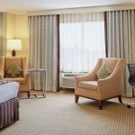 Atlanta Hotel Guest Room King Bed