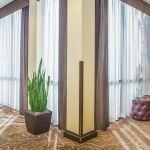 Atlanta Airport Hotel Hallway with Trees