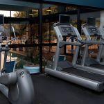 Charlotte Hotel Fitness Center Cardio Equipment