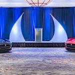 Charlotte Hotel Ballroom Two Sports Cars