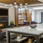 Denver Hotel Lounge With Fireplace