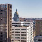 Denver City View Of Capital Building